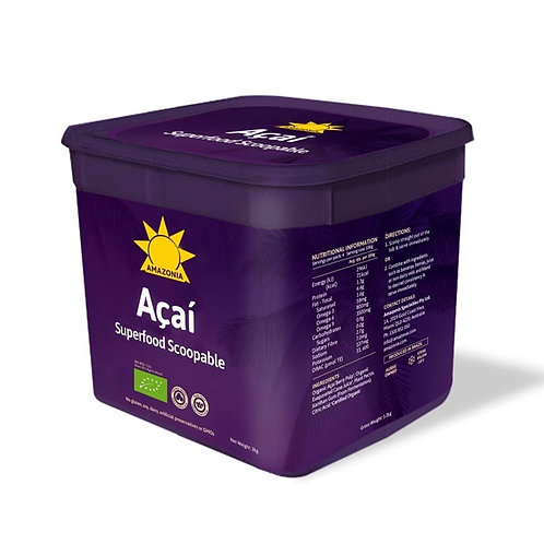 Acai Energy Scoopable - 3kg Tub