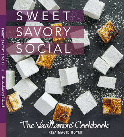 Sweet. Savory. Social. The Vanillamore Cookbook - Now Available!