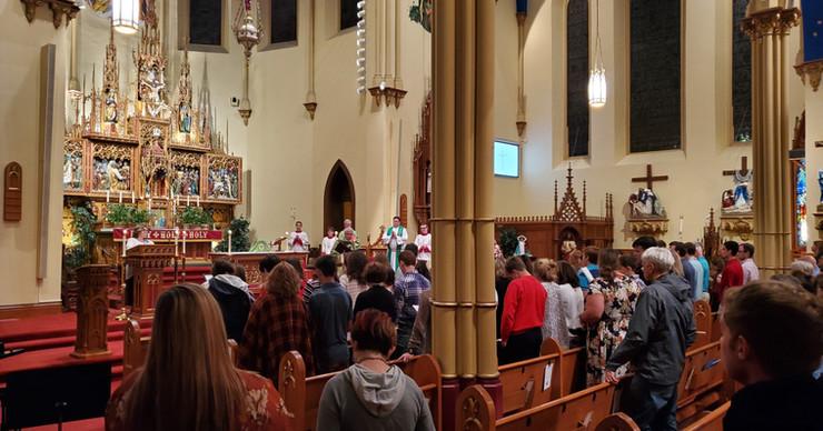 8PM mass Bible Presntation for Confirmat