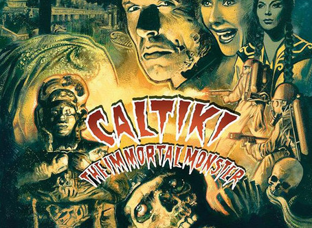 Caltiki: The Immortal Monster Blu-ray Review (originally published 2017)