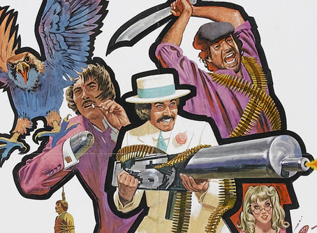 Grinding the Stream August 2020 UPDATES: Spaghetti Westerns