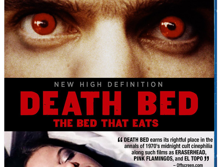 Death Bed: The Bed that Eats Blu-ray Review (originally published 2014)