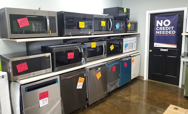 Microwaves & Dishwashers
