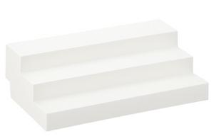 expand-a-shelf 3-tier shelf riser