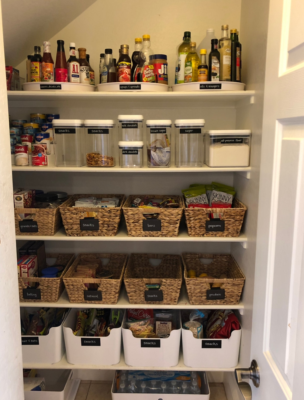 Pantry organized and styled by AZ House of Order