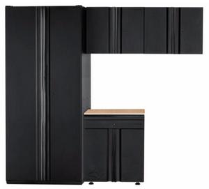 Husky 4-piece garage cabinet set