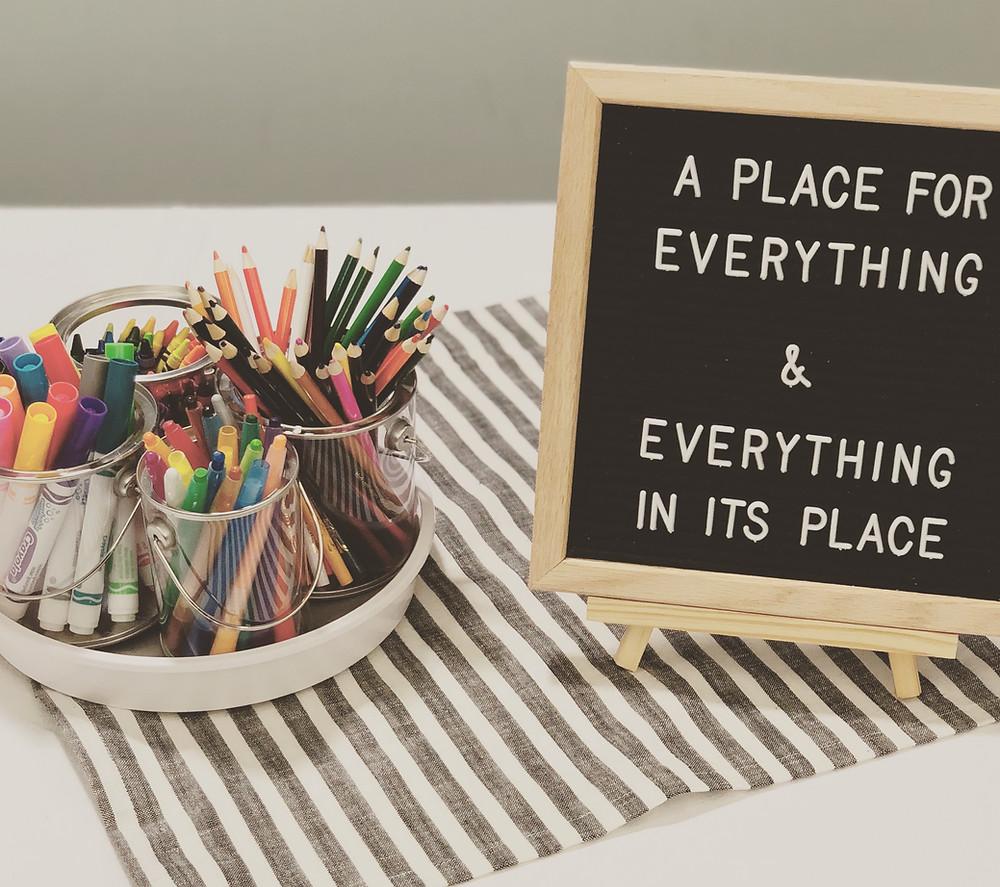 organizing tips