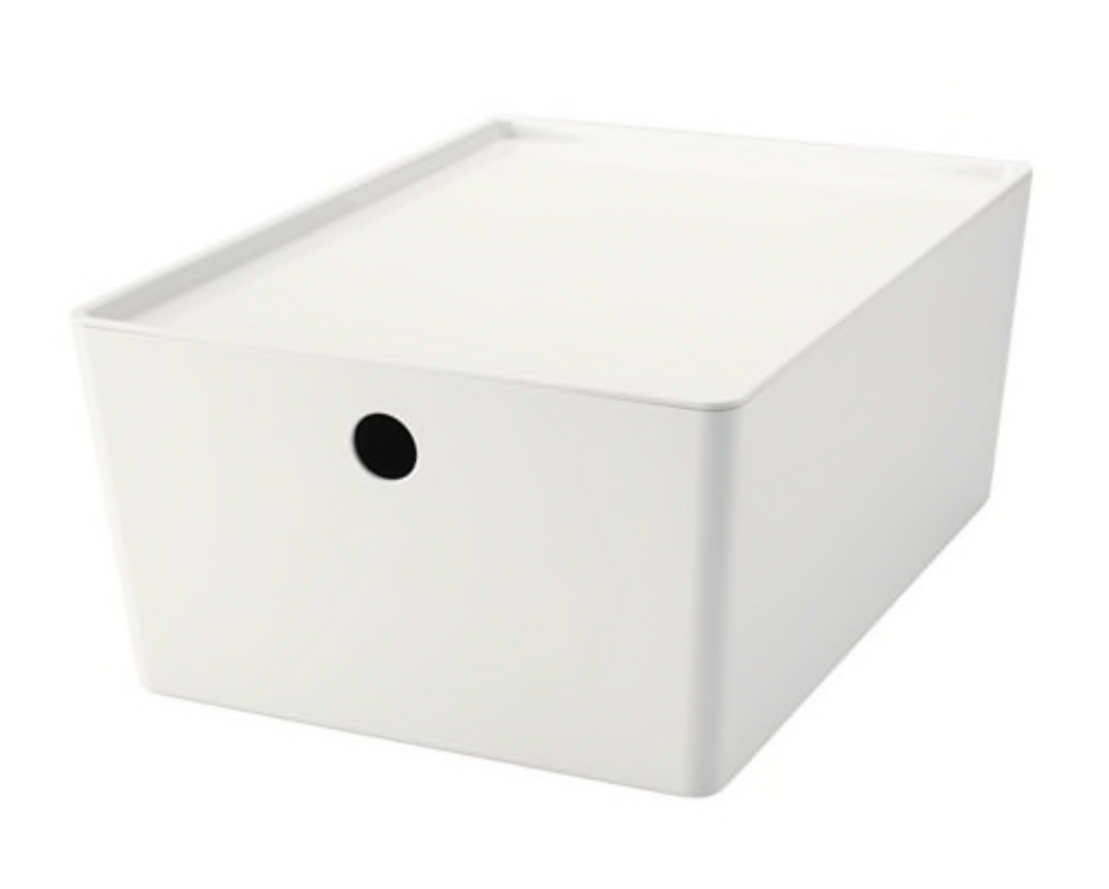 KUGGIS box with lid from IKEA