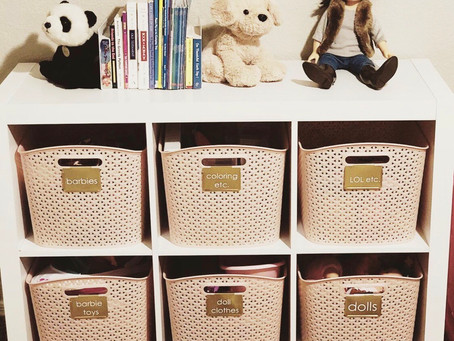 Organizing Kids' Rooms: part 1 of 2