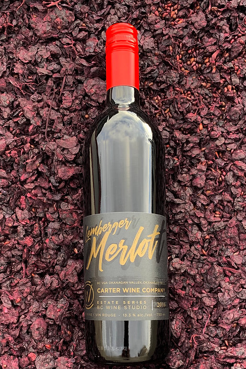 Estate Series Lemberger Merlot 2016