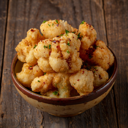 Panko Breaded Cauliflower