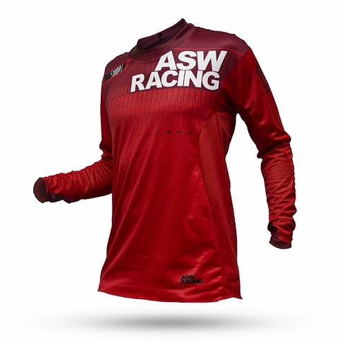 Camisa Asw Podium Tech 17 Vermelha