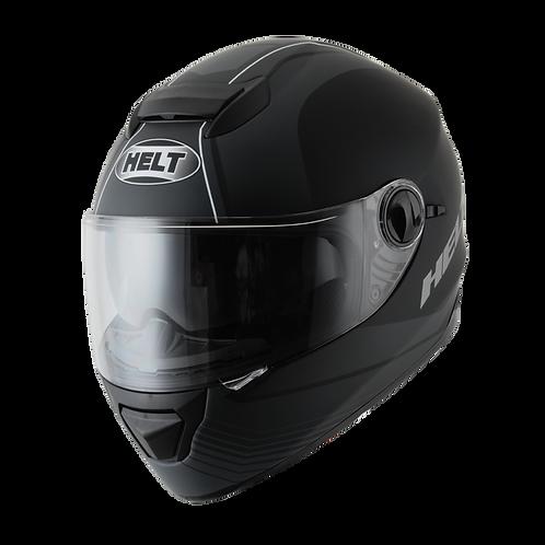 Capacete Helt New Race Glass Preto Fosco