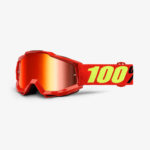 Óculos 100% Accuri Vermelho