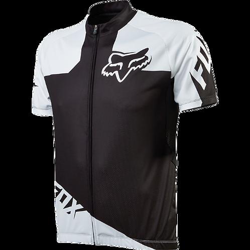 Camisa Fox Livewire Preta/Branca