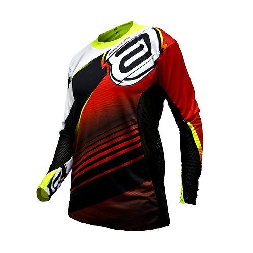Camisa Asw Podium Race 17 Vermelho/Preto