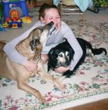 Gabriella With Mutley & Rex