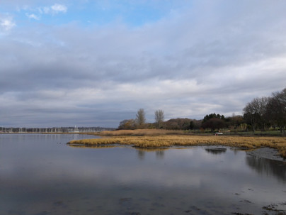 High Tide on the Hamble River