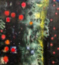 Open, oil on canvas, 66x60
