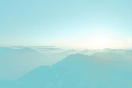 Übersicht über die Berge