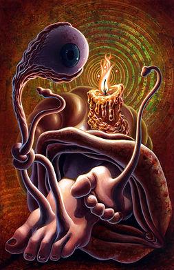 crescent, seo, illustration, seven, deadly, sins, the sloth,