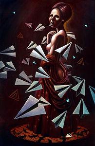 crescent seo illustration dark lady