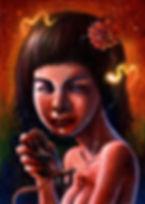 crescent, seo, illustration, art, painting, artist, painter, creepy, freaks, a world of freaks, world of freaks