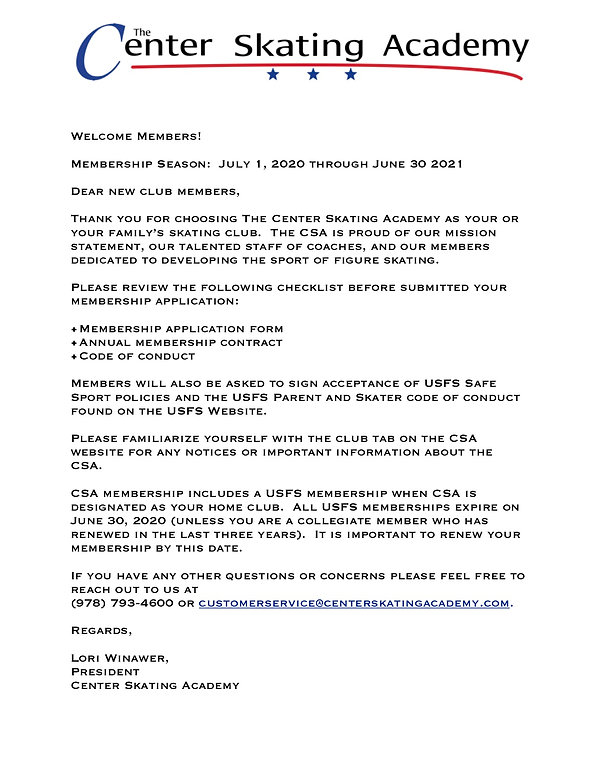 the CSA club welcome letter.jpg
