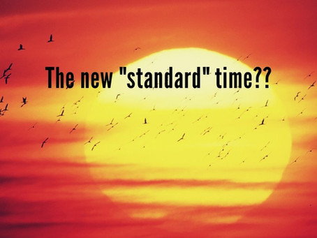 """What Should Be the Default """"Standard"""" Time?"""