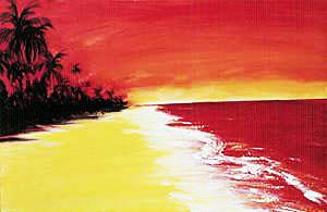 Red Sea Scape