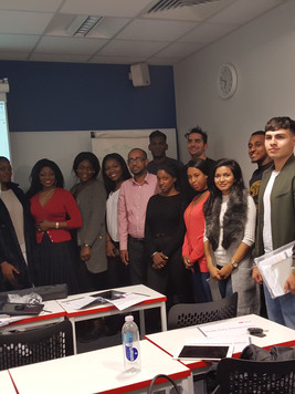 With Undergraduate Students Middlesex University