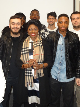 With Middlesex University Undergraduates
