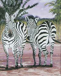 Zebras (Prints only)