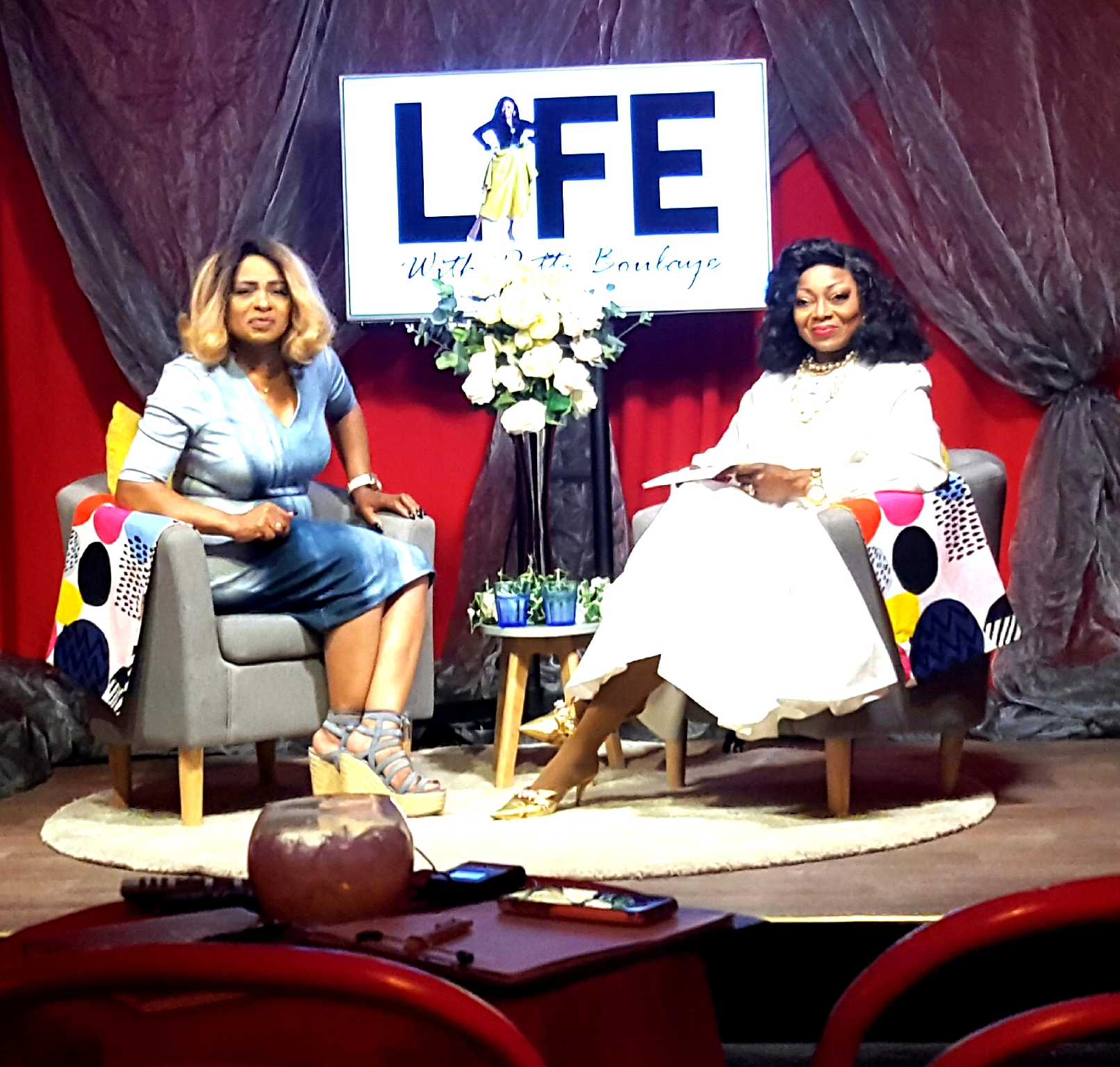 Dr Wilson on Life with Patti Boulaye