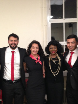 With Undergraduates at Middlesex University