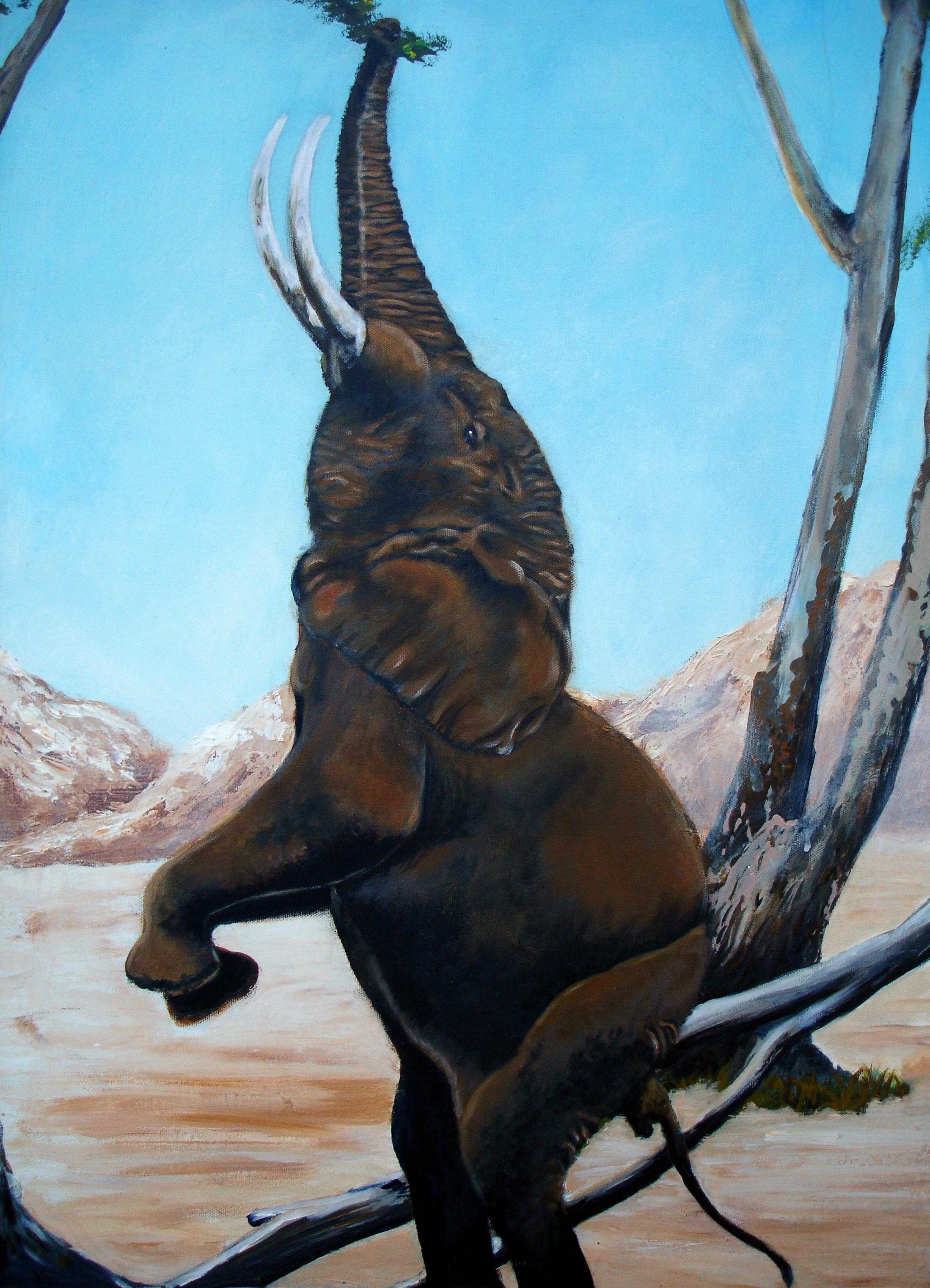 Standing Elephant £850