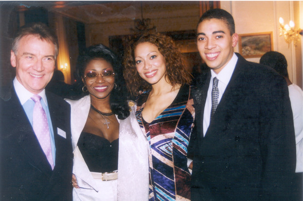 Stephen, Patti, Aret and Sebastian
