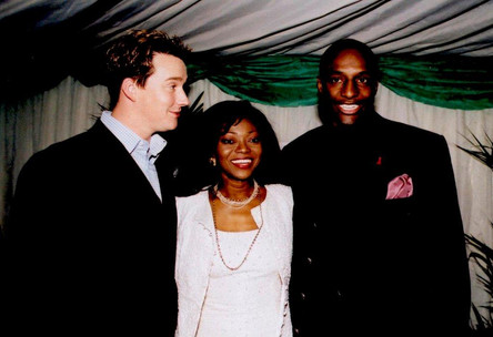 Russell Watson Patti Boulaye & John Fashanu