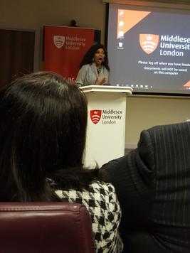 Speaking at Middlesex University Edubate