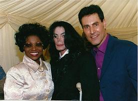 Michael Jackson & Uri Geller