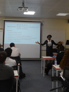 Lecturing Undergraduates at Middlesex University