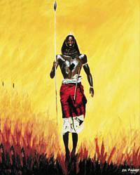 Maasai Warrior (prints available)