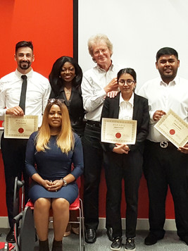 With Middlesex University Business Students Bipada Certification