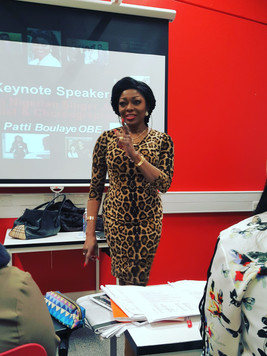 Lecturing at Middlesex University