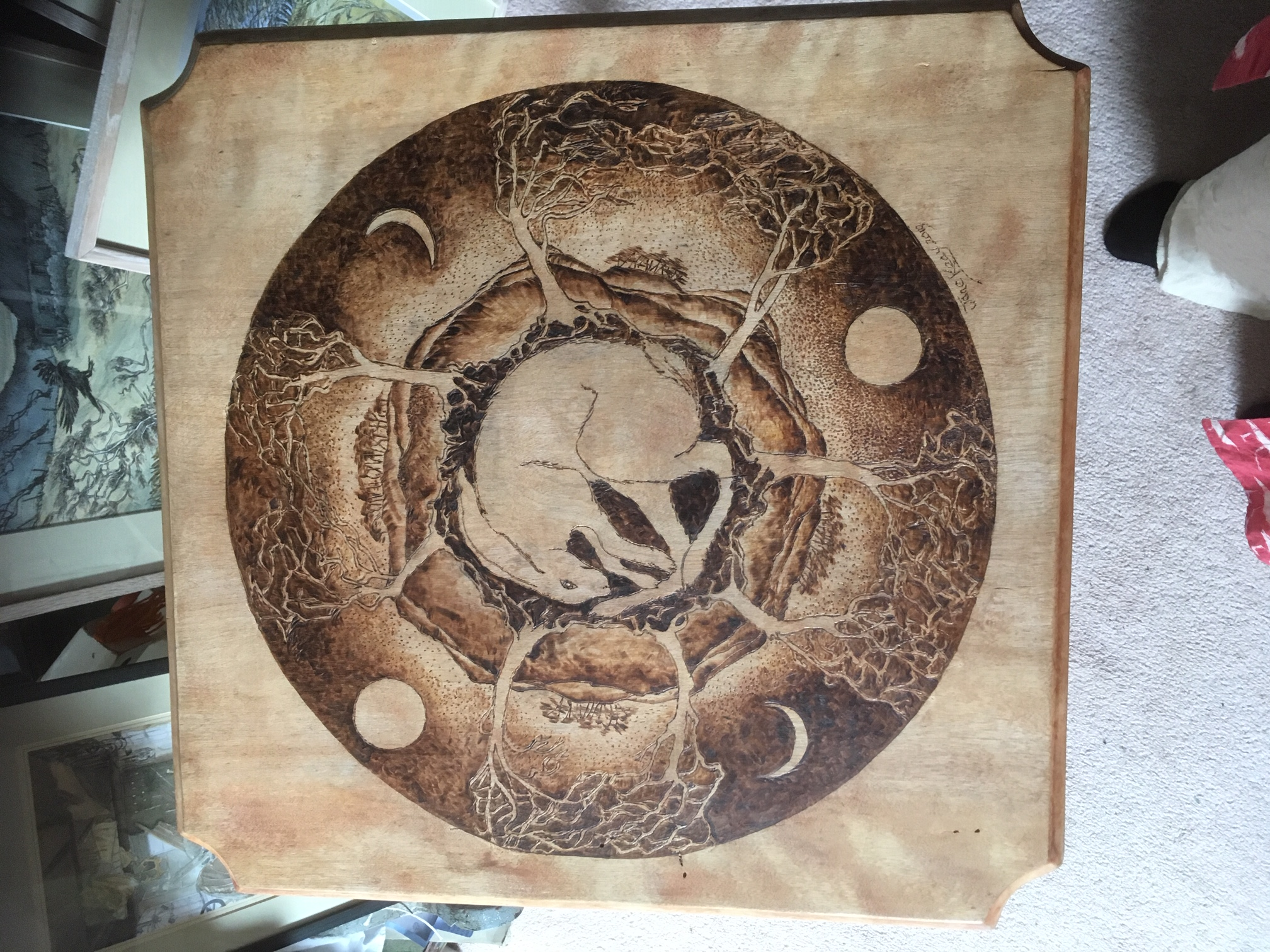 Pyrograph Table Top