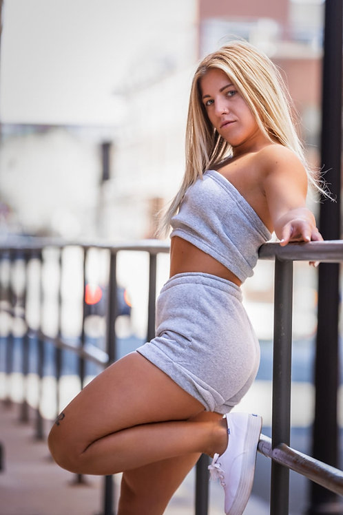 Cozy Two-Piece Shorts