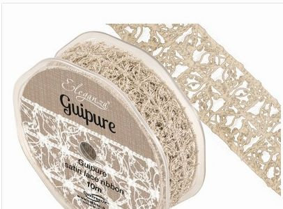 VINTAGE LACE RIBBON 15MM - 1 METRE LENGTH