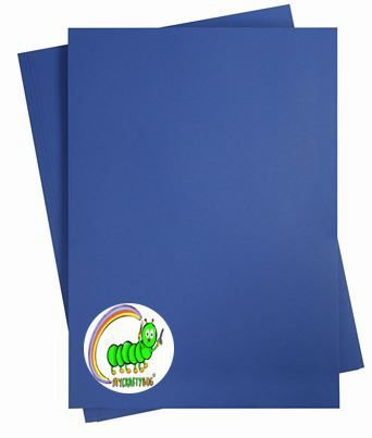MIDNIGHT BLUE CARD STOCK 10 X A4 SHEETS - 180 GSM