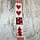 Thumbnail: CHRISTMAS NORDIC COTTON RIBBON ( 1 METRE)