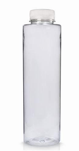 Bottles - Plastic Straight Slim - 500ml